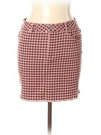 Gingham skirt at ThredUP