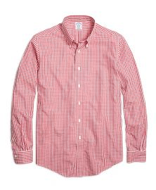Gingham sport shirt at Brooks Brothers