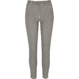 Gingham trousers at River Island