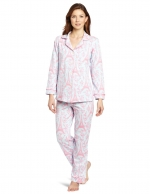 Ginny's pink Eiffel Tower PJs by Bedhead at Amazon