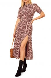 Gio Ditsy Floral Midi Dress by Reformation at Nordstrom