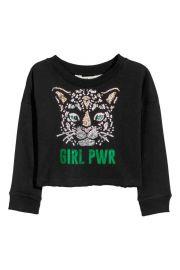 Girl Power Sweatshirt at H&M