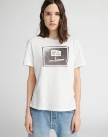 Girlfriend Keep off the Grass Tee by Re Done at Re Done
