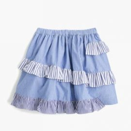 Girls  mixed-stripe skirt at J. Crew