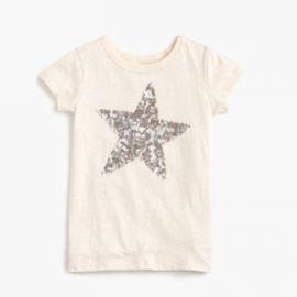 Girls  sequin star T-shirt at J. Crew