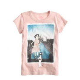 Girls Olive Taj Mahal T-shirt at J. Crew