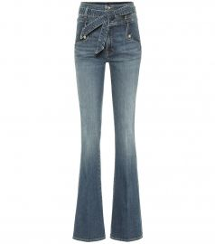 Giselle high-rise flared jeans at Mytheresa