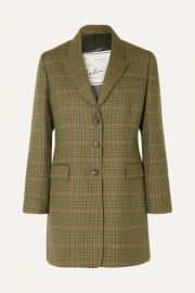 Giuliva Heritage Collection - Karen checked wool blazer at Net A Porter