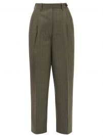 Giuliva Heritage Collection The Cornelia pinstriped wool trousers at Matches