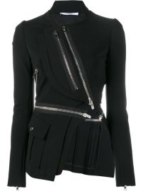 Givenchy Asymmetric Zip-embellished Jacket at Farfetch