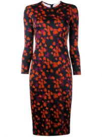 Givenchy Abstract Floral Print Dress - Farfetch at Farfetch
