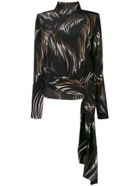 Givenchy Abstract Print Blouse - Farfetch at Farfetch