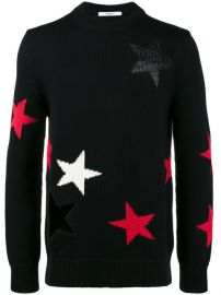 Givenchy Cut Out Star Sweater  1 450 - Shop AW17 Online - Fast Delivery  Price at Farfetch