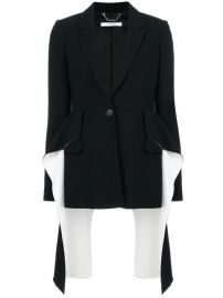 Givenchy Flared Panel Blazer  2 995 - Buy AW17 Online - Fast Delivery  Price at Farfetch