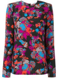 Givenchy Floral Print Top - Farfetch at Farfetch