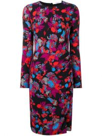 Givenchy Graphic Floral Print Dress - Farfetch at Farfetch