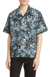 Givenchy Hawaii Floral Short Sleeve Button-Up Camp Shirt   Nordstrom at Nordstrom