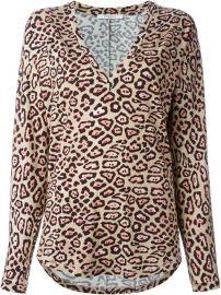 Givenchy Leopard Print T-shirt - Loschi at Farfetch