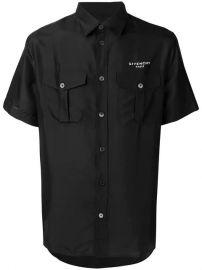 Givenchy Logo button-up Shirt - Farfetch at Farfetch