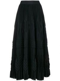 Givenchy Long Pleated Skirt - Farfetch at Farfetch