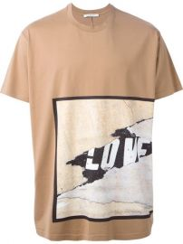 Givenchy Love Print T-shirt - Oand39 at Farfetch