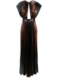 Givenchy Micro Pleated Maxi Dress - Farfetch at Farfetch