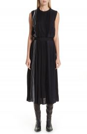 Givenchy Mixed Pleat Dress   Nordstrom at Nordstrom