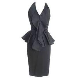 Givenchy Peplum Dress at Farfetch