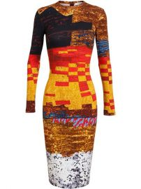 Givenchy Sequin Print Jersey Dress - Jofrand233 at Farfetch
