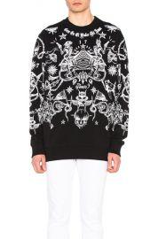 Givenchy Tattoo All Over Sweatshirt in Black   FWRD at Forward