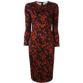 Givenchy abstract floral print dress at Farfetch