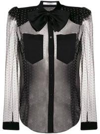 Givenchy polka-dot Sheer Blouse - Farfetch at Farfetch