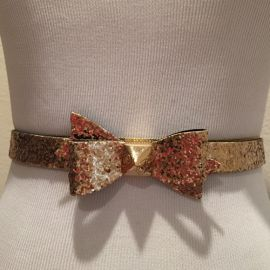 Glenton Glitter Belt at Ted Baker