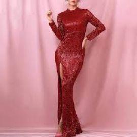 Glisten to Me Maxi Dress by Sonja at Sonja