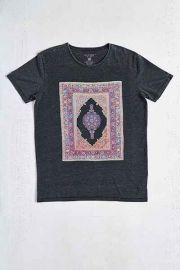 Globe Carpet Burnout Tee at Urban Outfitters