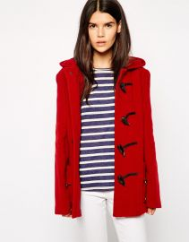 Gloverall  Gloverall Short Duffle Coat at Asos