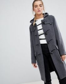 Gloverall classic duffle coat with hood at asos com at Asos