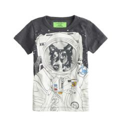 Glow in the dark space dog tee at J. Crew