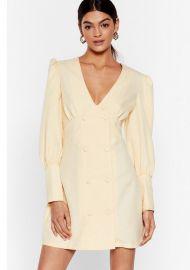 Go Work to Do Mini Blazer Dress at Nasty Gal