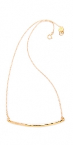 Gold bar necklace like Zoes at Shopbop