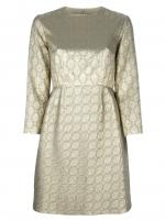 Gold dress by Stella McCartney at Farfetch