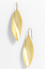 Gold leaf earrings like Emilys at Nordstrom
