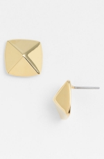 Gold pyramid studs by Vince Camuto at Nordstrom