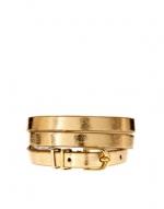 Gold skinny betl at Asos