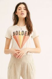 Golden Graphic Tee by Free People at Free People