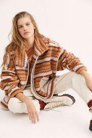 Golden Hour Fleece Dolman Jacket at Free People