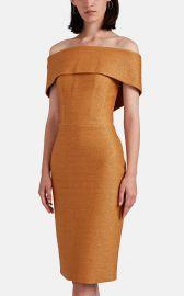 Golden Ticket Cloqué Off-The-Shoulder Dress at Barneys