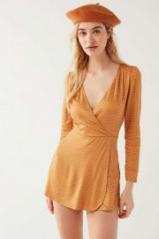 Goldmine Romper at Urban Outfitters