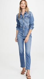 Good American Exposed Zip Jumpsuit at Shopbop