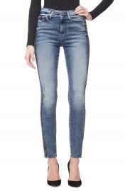 Good American Good Waist Stripe Skinny Jeans  Blue 249   Regular  amp  Plus Size    Nordstrom at Nordstrom
